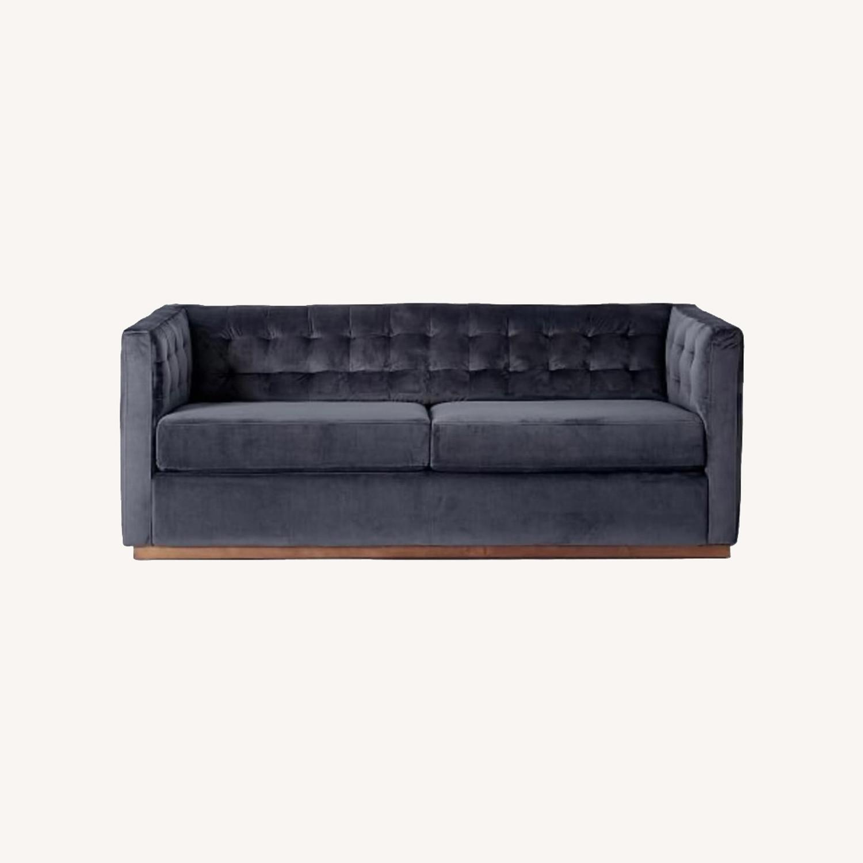 West Elm Tufted Sofa - image-0
