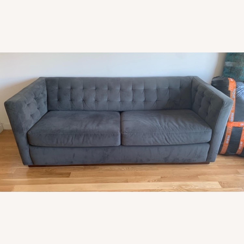 West Elm Tufted Sofa - image-2