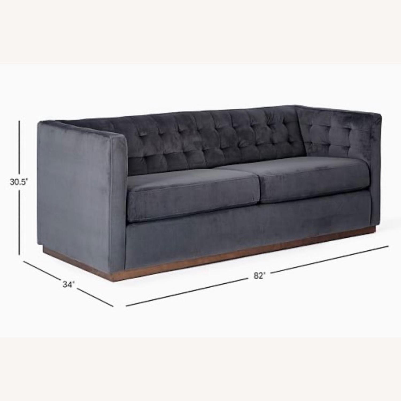 West Elm Tufted Sofa - image-1