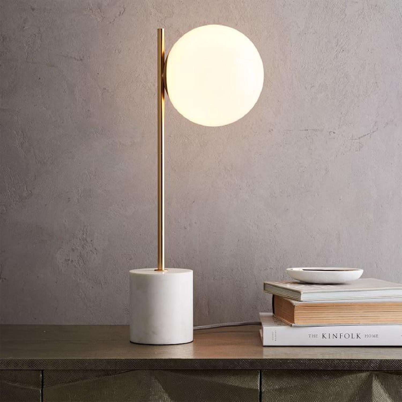 West Elm Sphere + Stem Table lamp - image-4