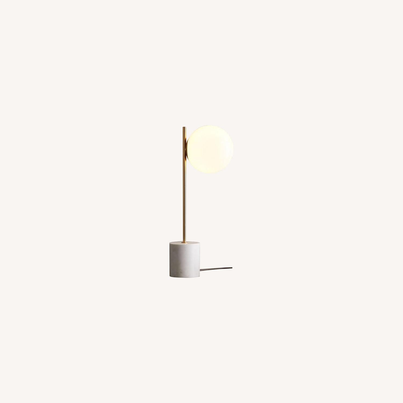 West Elm Sphere + Stem Table lamp - image-0