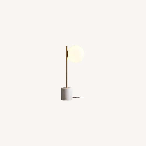 Used West Elm Sphere + Stem Table lamp for sale on AptDeco