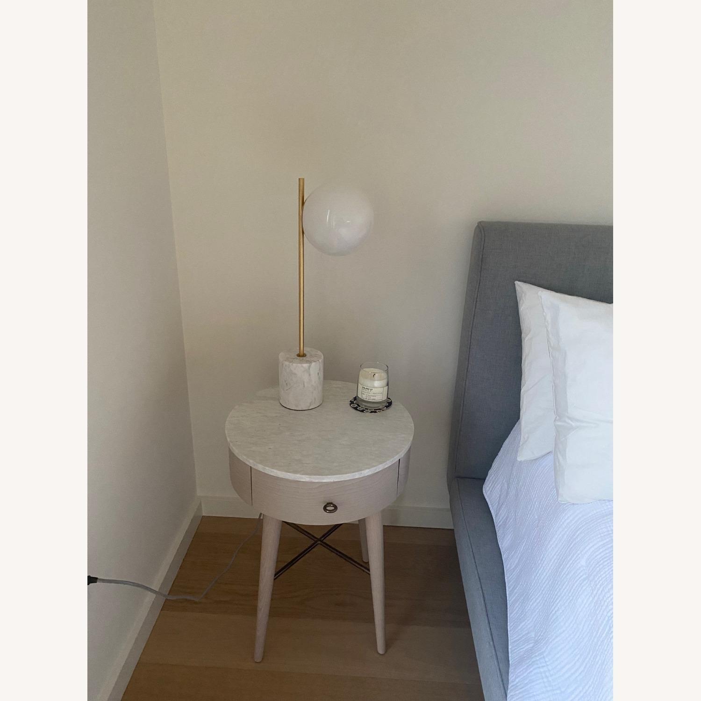 West Elm Sphere + Stem Table lamp - image-1