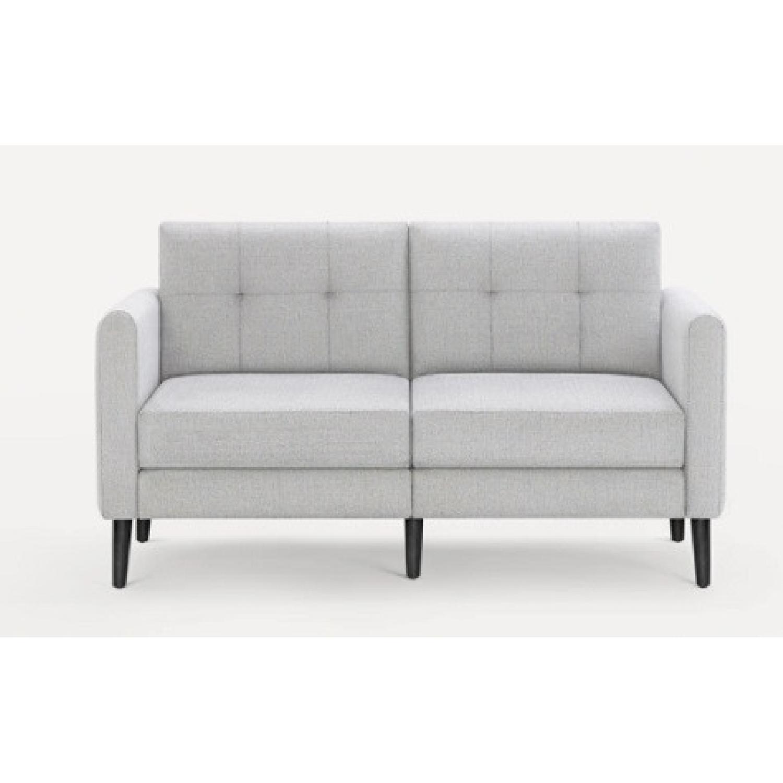Burrow Gray 2-Seat Sofa - image-4