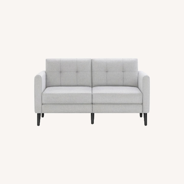 Burrow Gray 2-Seat Sofa - image-0