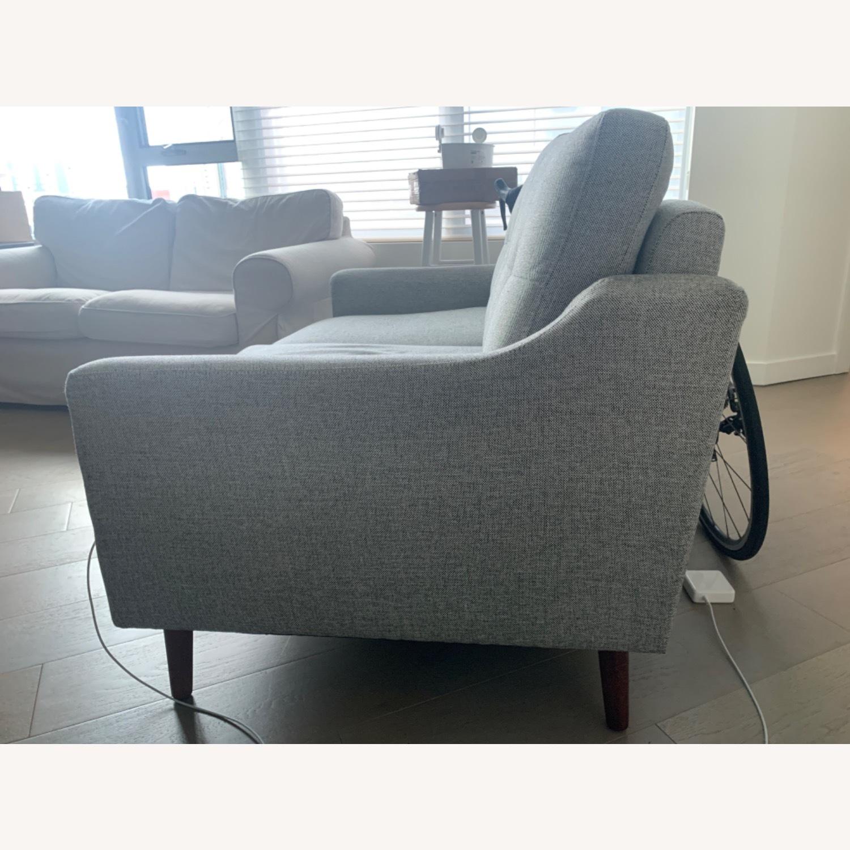 Burrow Gray 2-Seat Sofa - image-3
