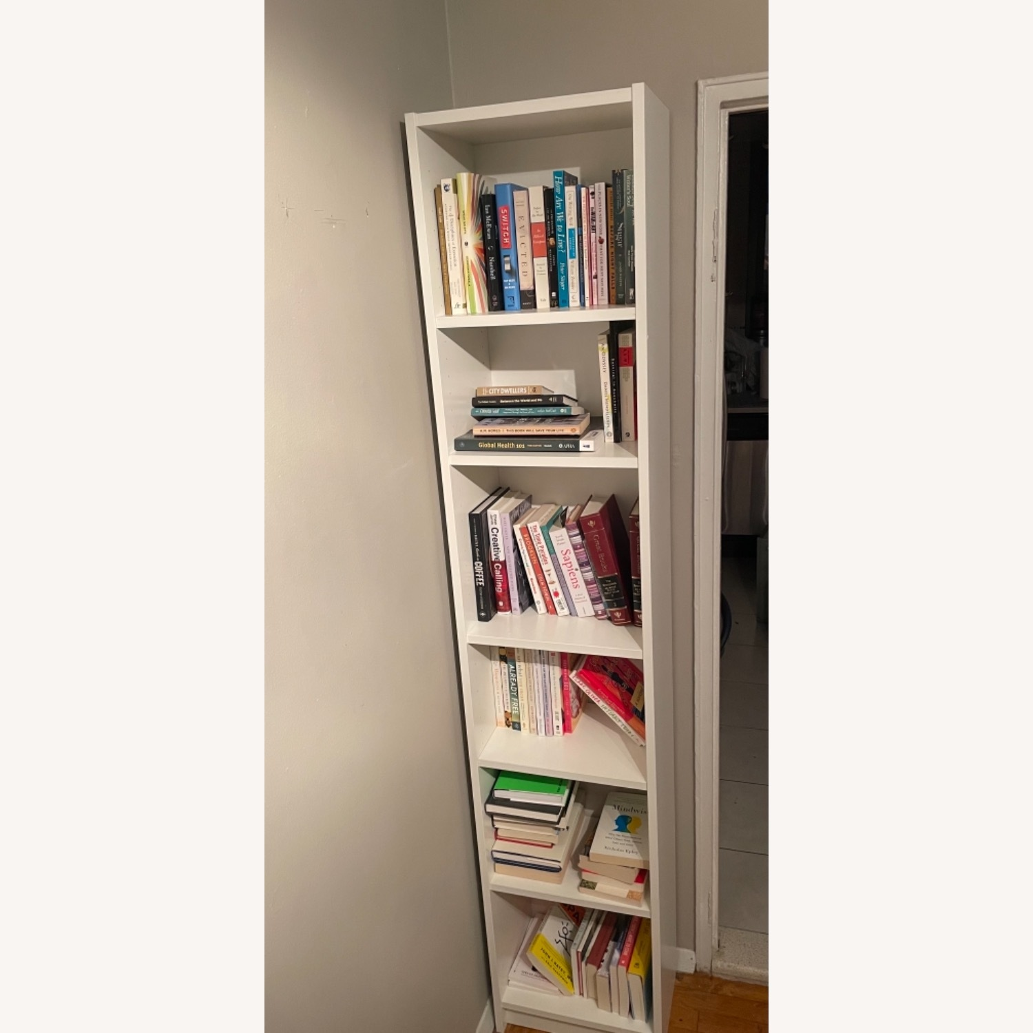 IKEA 2 Billy Bookcases - image-1