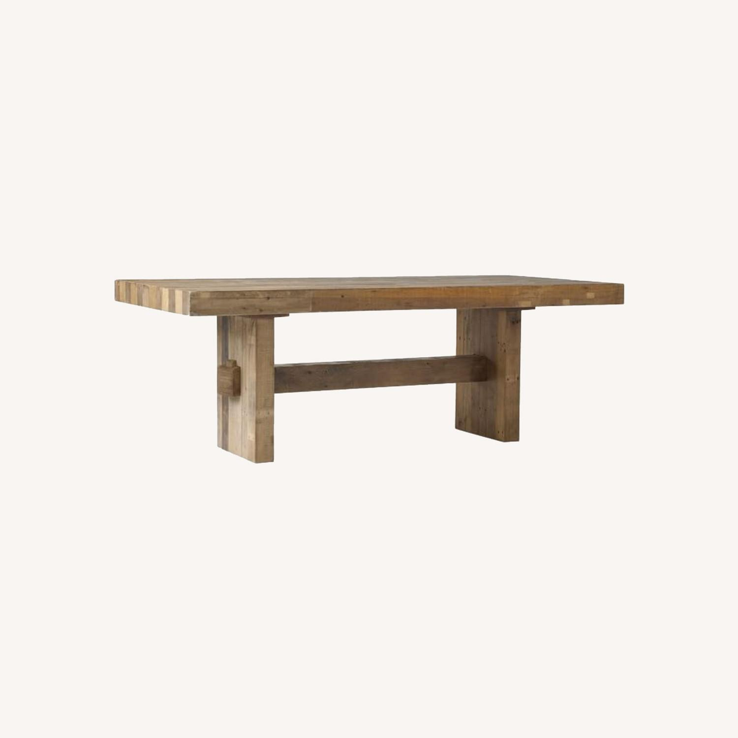 """West Elm Emerson Reclaimed Wood Dining Table (62"""") - image-0"""