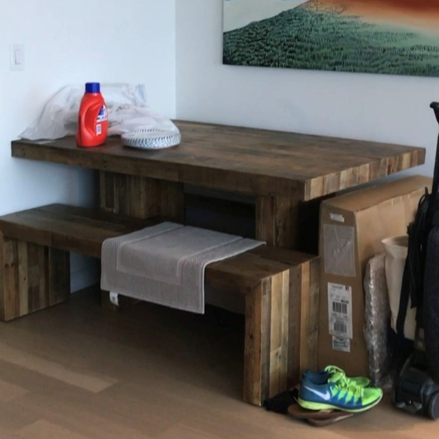 """West Elm Emerson Reclaimed Wood Dining Table (62"""") - image-2"""