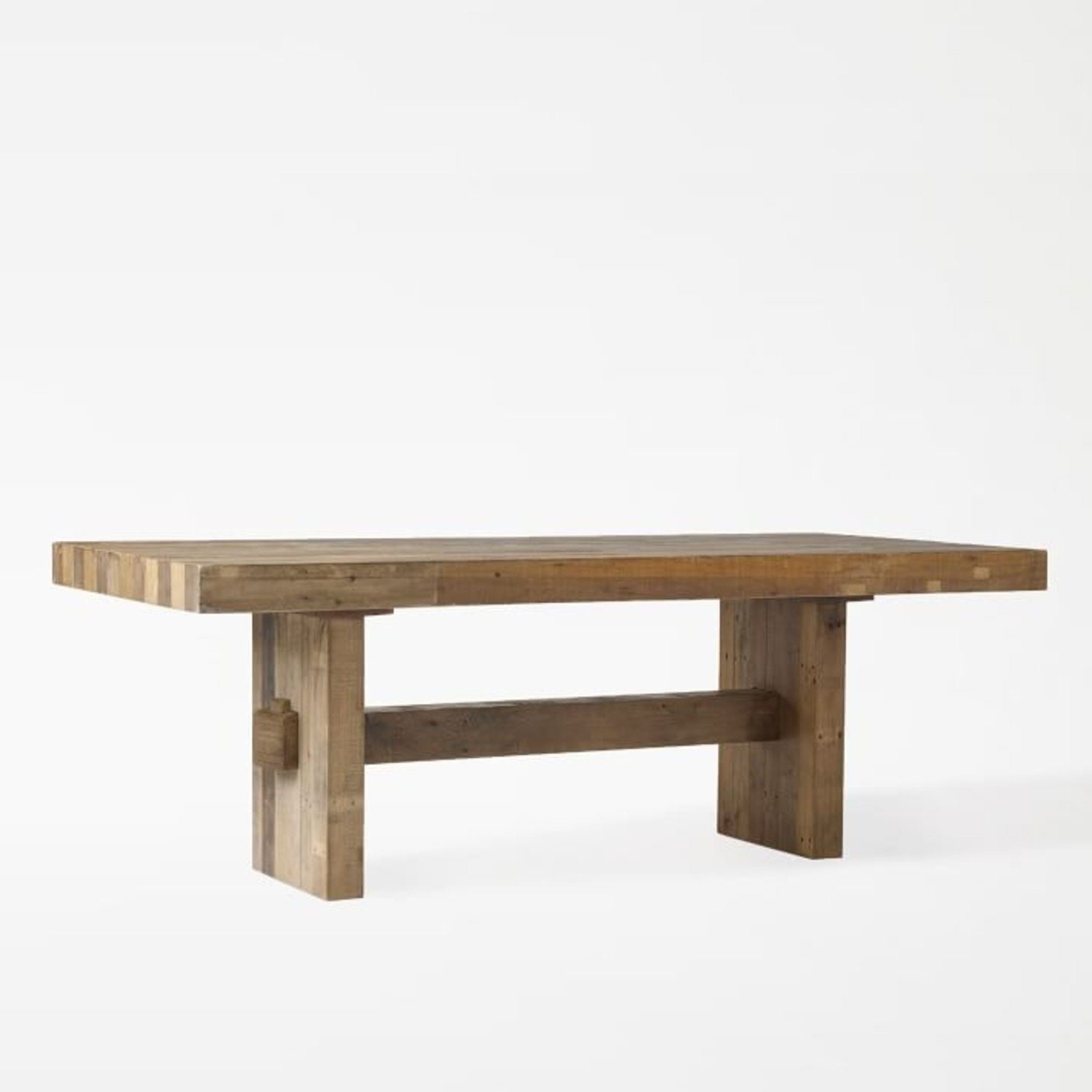 """West Elm Emerson Reclaimed Wood Dining Table (62"""") - image-1"""