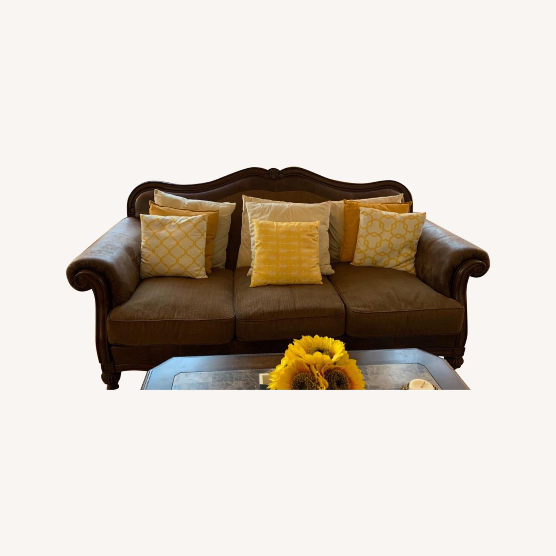 Brown 3-Piece Sofa - image-0