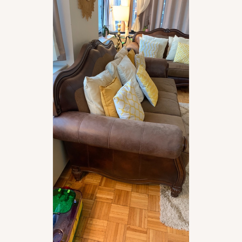 Brown 3-Piece Sofa - image-2