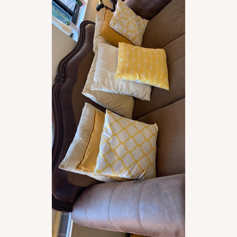 Brown 3-Piece Sofa - image-3