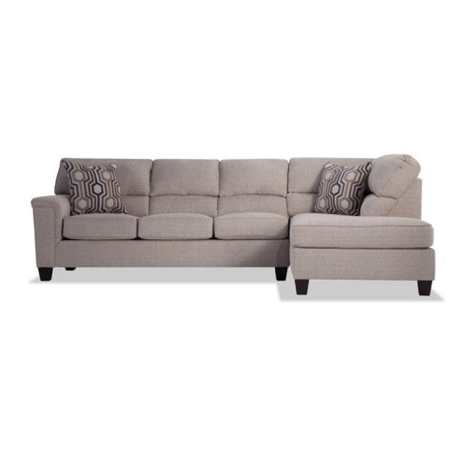 Bob's Discount Beige Sectional - image-4