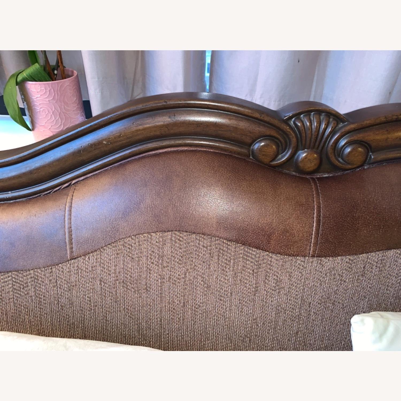Brown 2-Seater Sofa - image-5