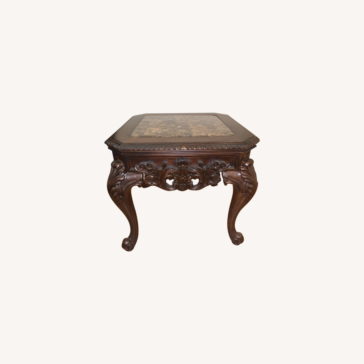 Brown Side Table - image-0