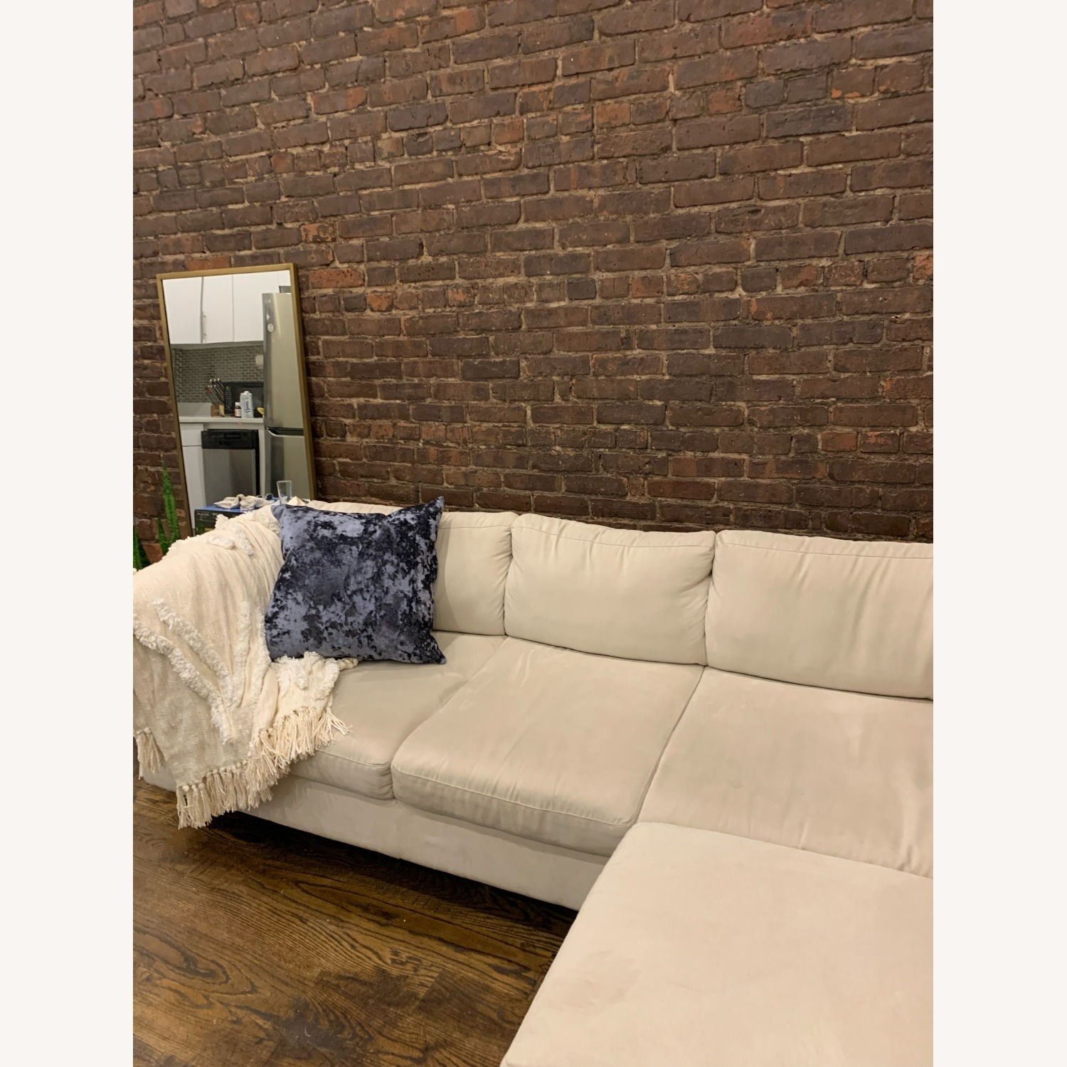 EQ3 Ivory 2 Piece Sectional - image-4