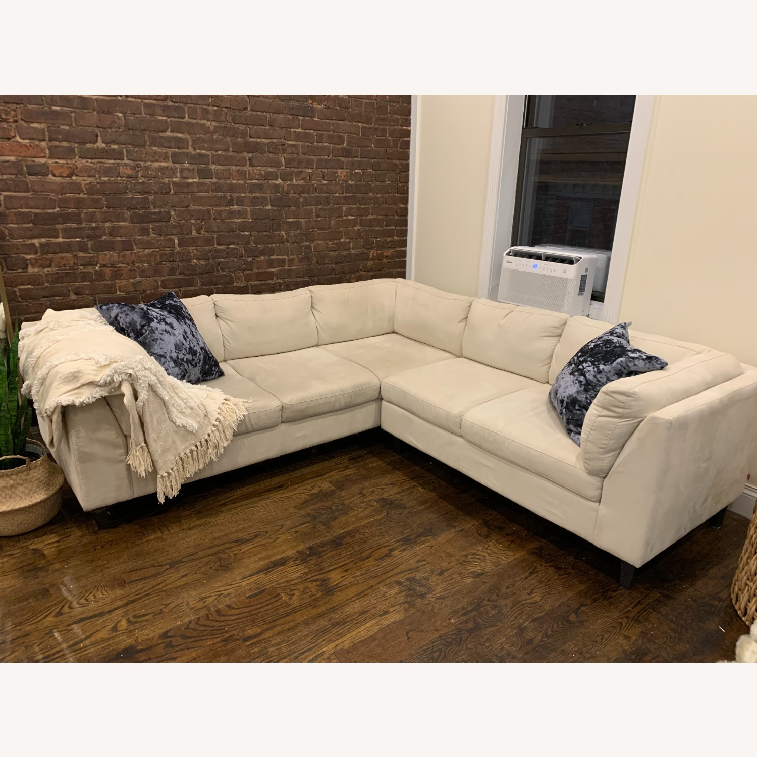 EQ3 Ivory 2 Piece Sectional - image-2