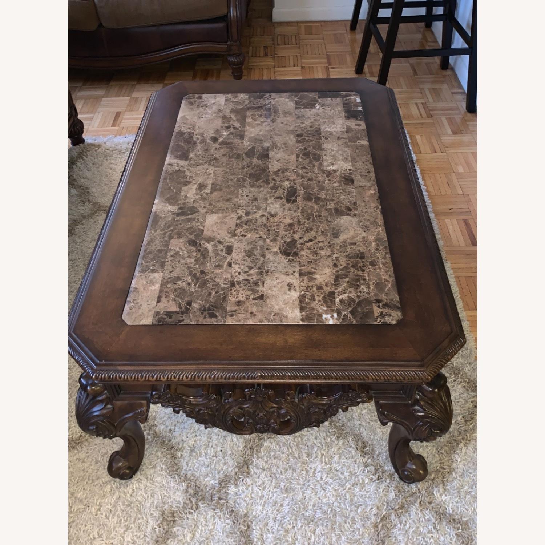 Brown Coffee Table - image-2