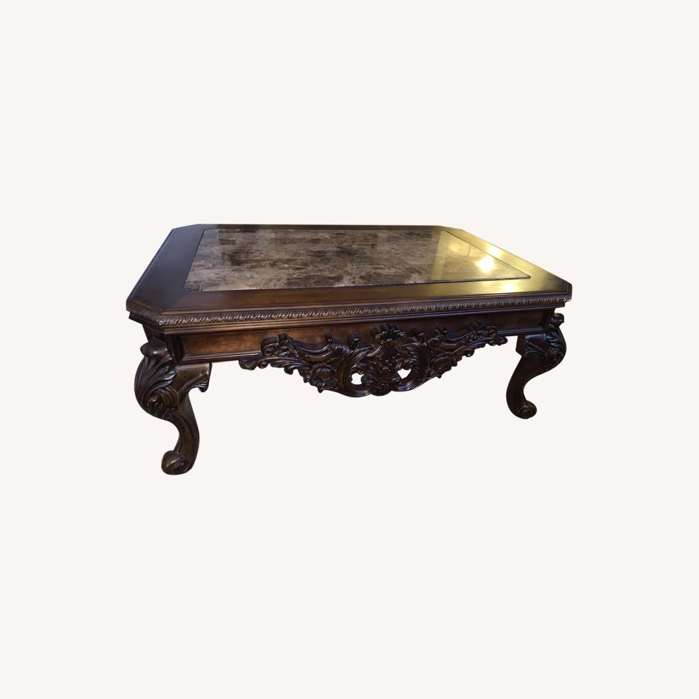 Brown Coffee Table - image-0