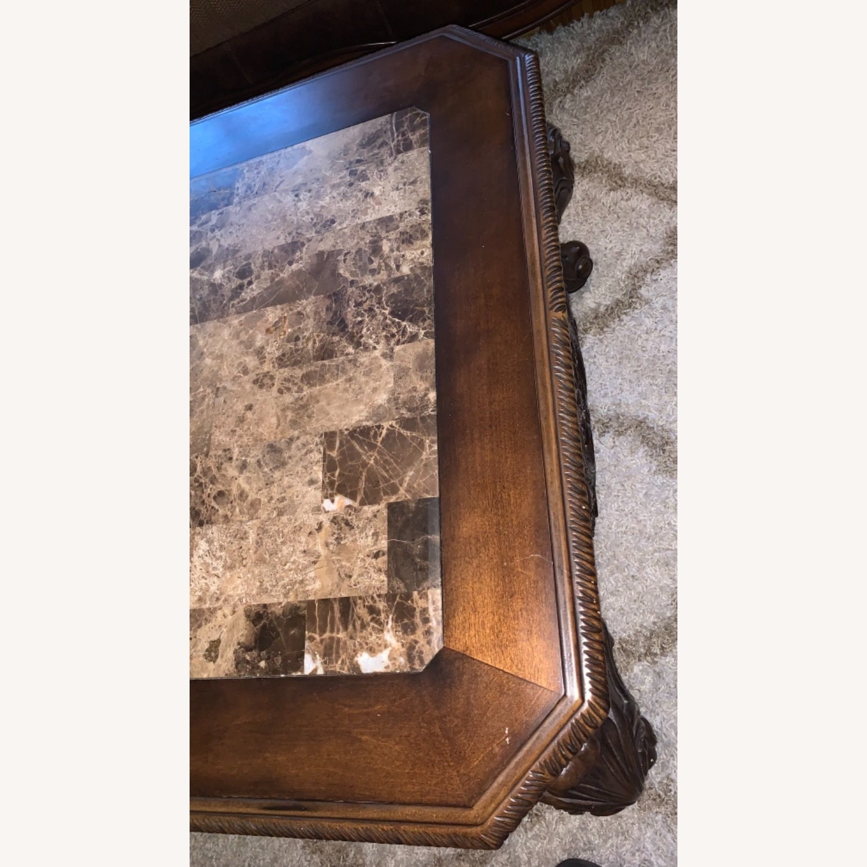 Brown Coffee Table - image-3