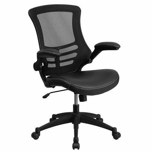 Used Flash Furniture Black Ergonomic Office Chair for sale on AptDeco