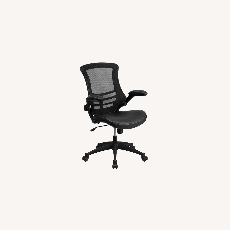 Flash Furniture Black Ergonomic Office Chair - image-0