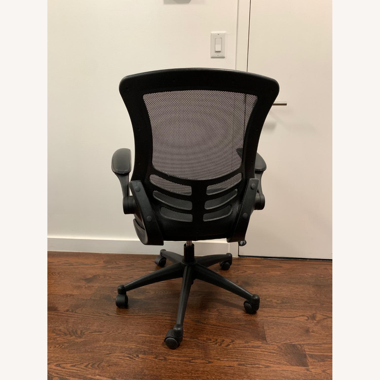 Flash Furniture Black Ergonomic Office Chair - image-3