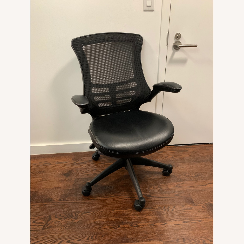 Flash Furniture Black Ergonomic Office Chair - image-1