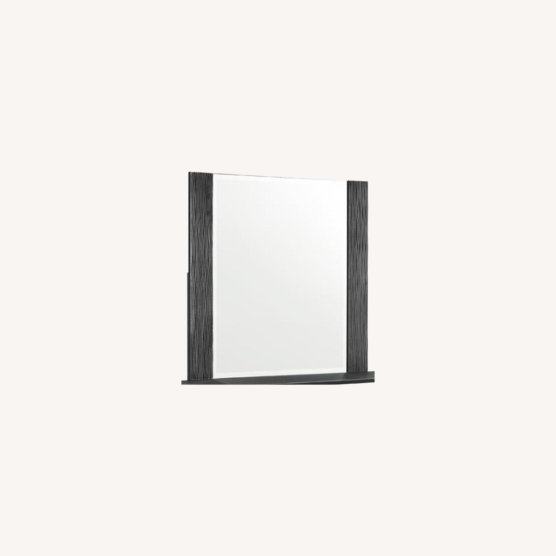 Mirror In Elegant Black Finish - image-8