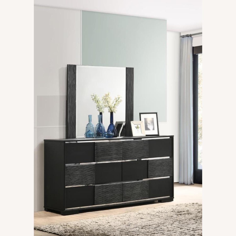 Mirror In Elegant Black Finish - image-6