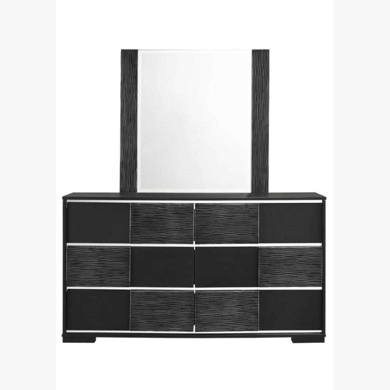 Mirror In Elegant Black Finish - image-2