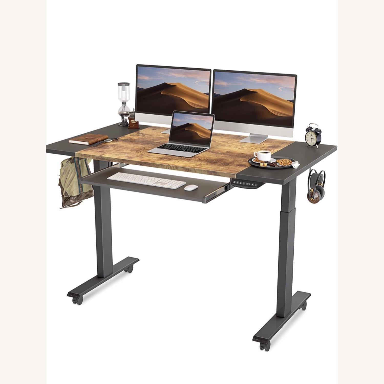 FEZIBO Height Adjustable Electric Standing Desk - image-1