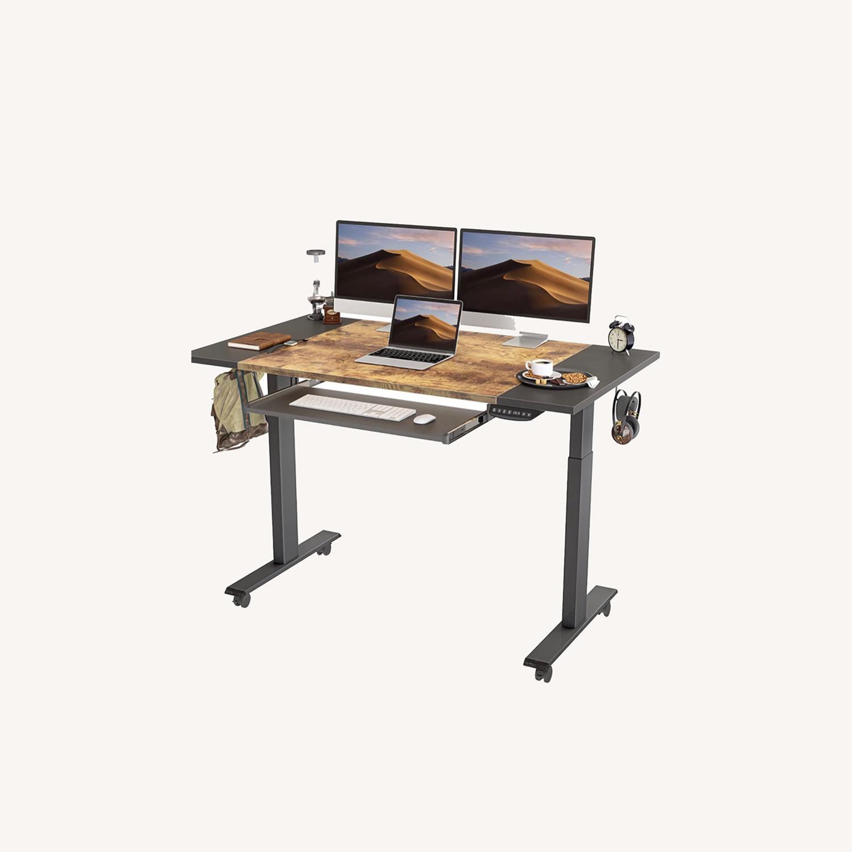 FEZIBO Height Adjustable Electric Standing Desk - image-0