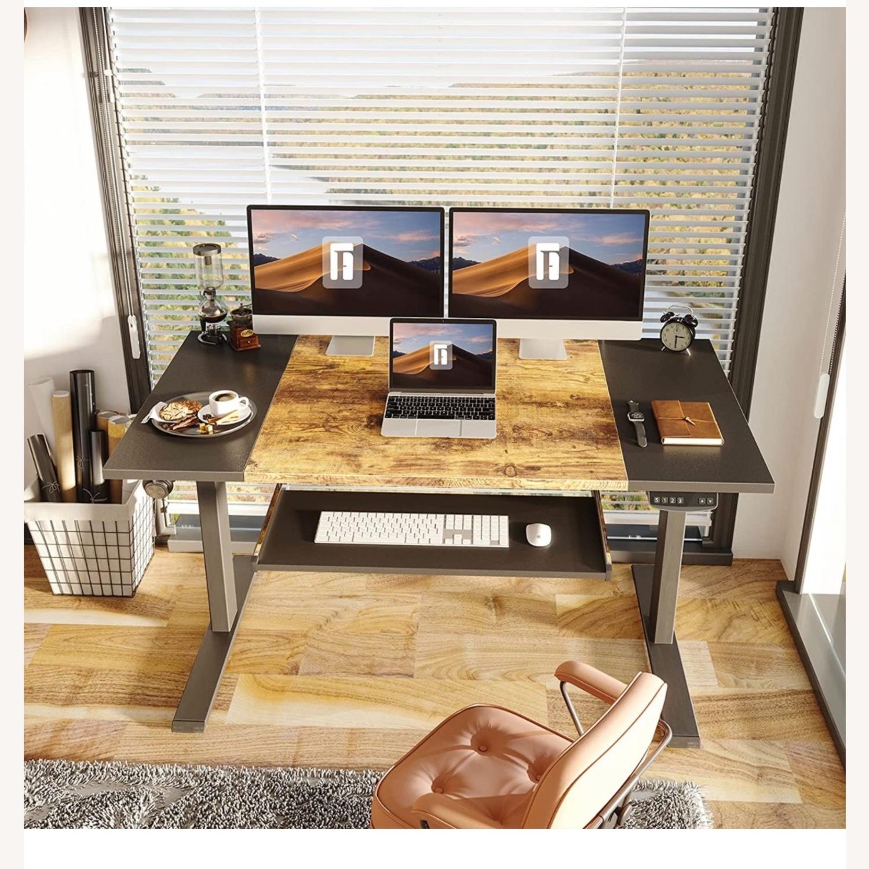 FEZIBO Height Adjustable Electric Standing Desk - image-2