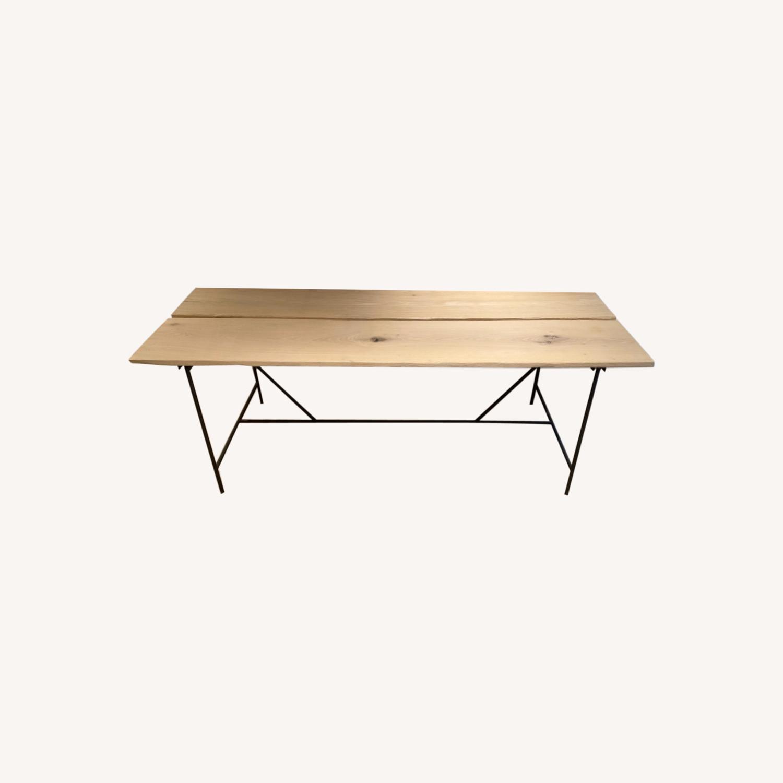 Calypso St. Barth Natural Wood Table - image-0