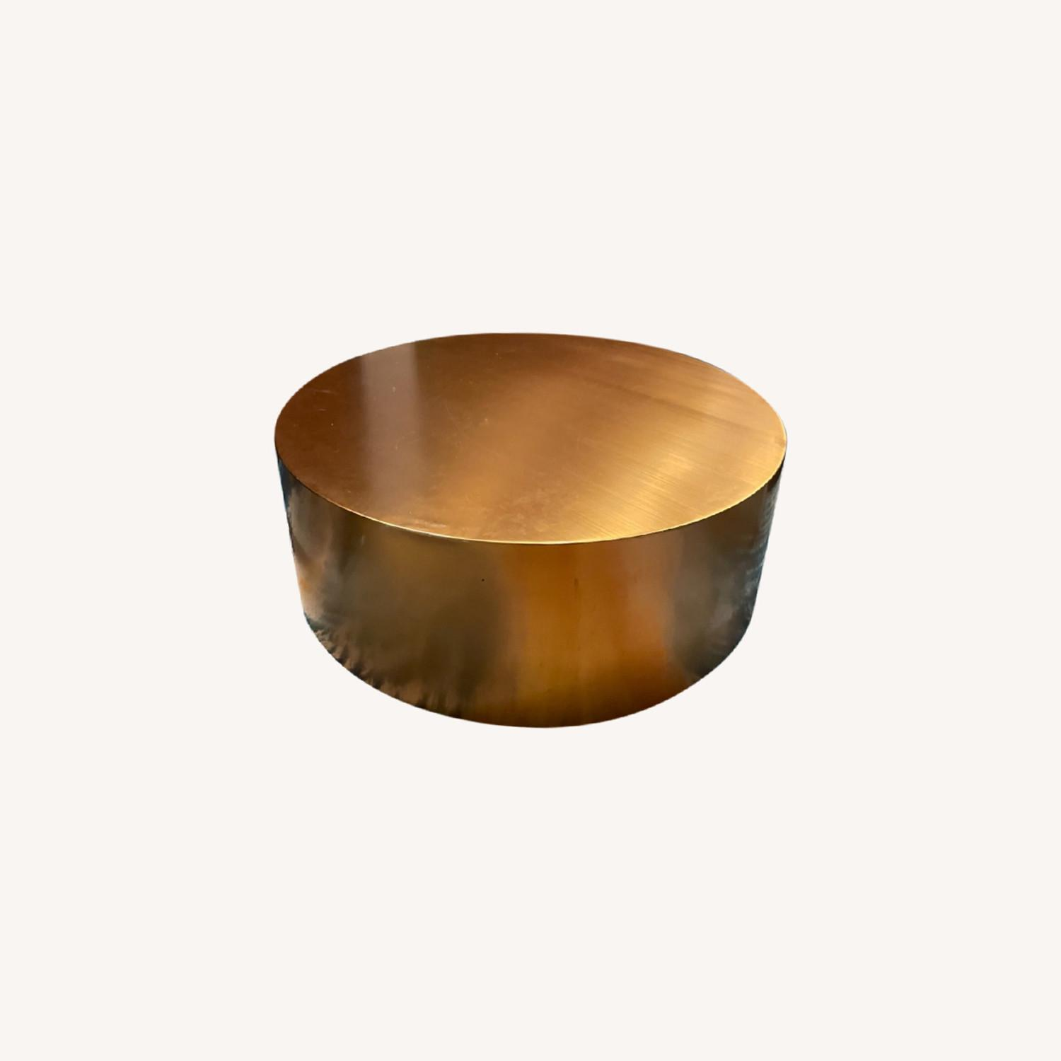 Gold Coffee Table - image-0