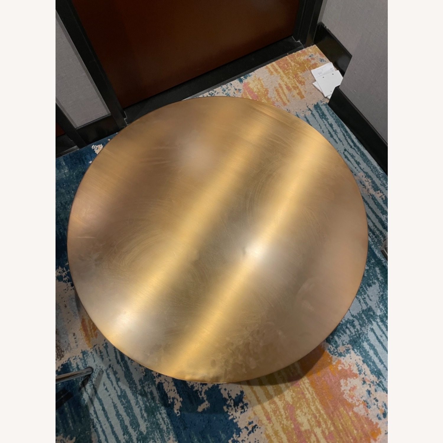 Gold Coffee Table - image-5