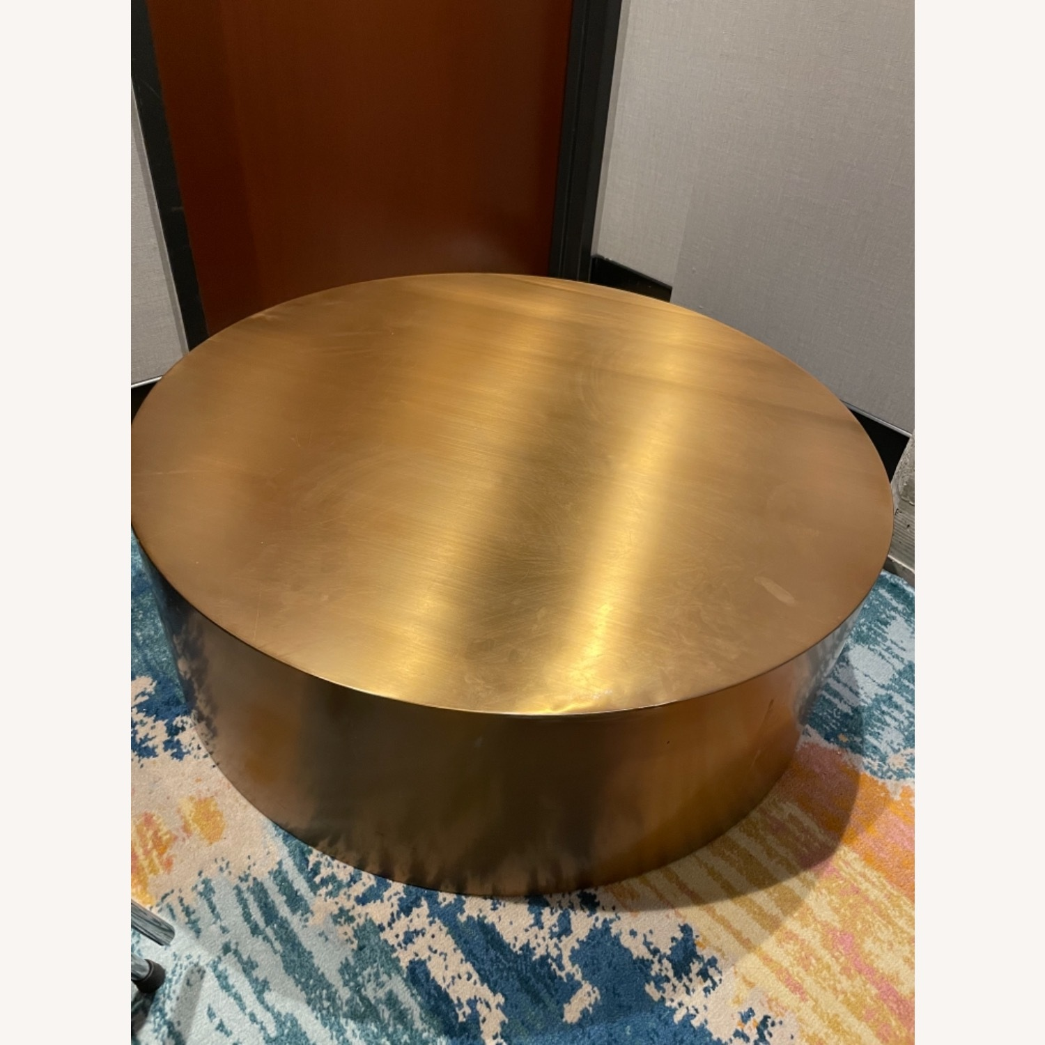 Gold Coffee Table - image-3