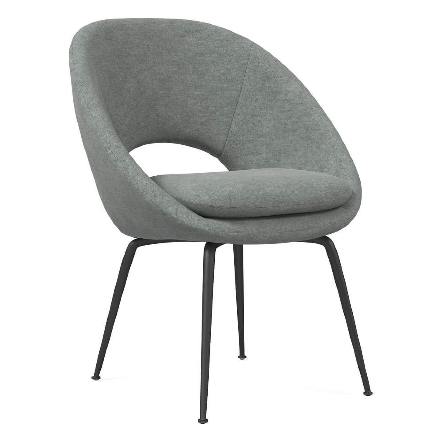 West Elm Orb Dining Chairs - image-10