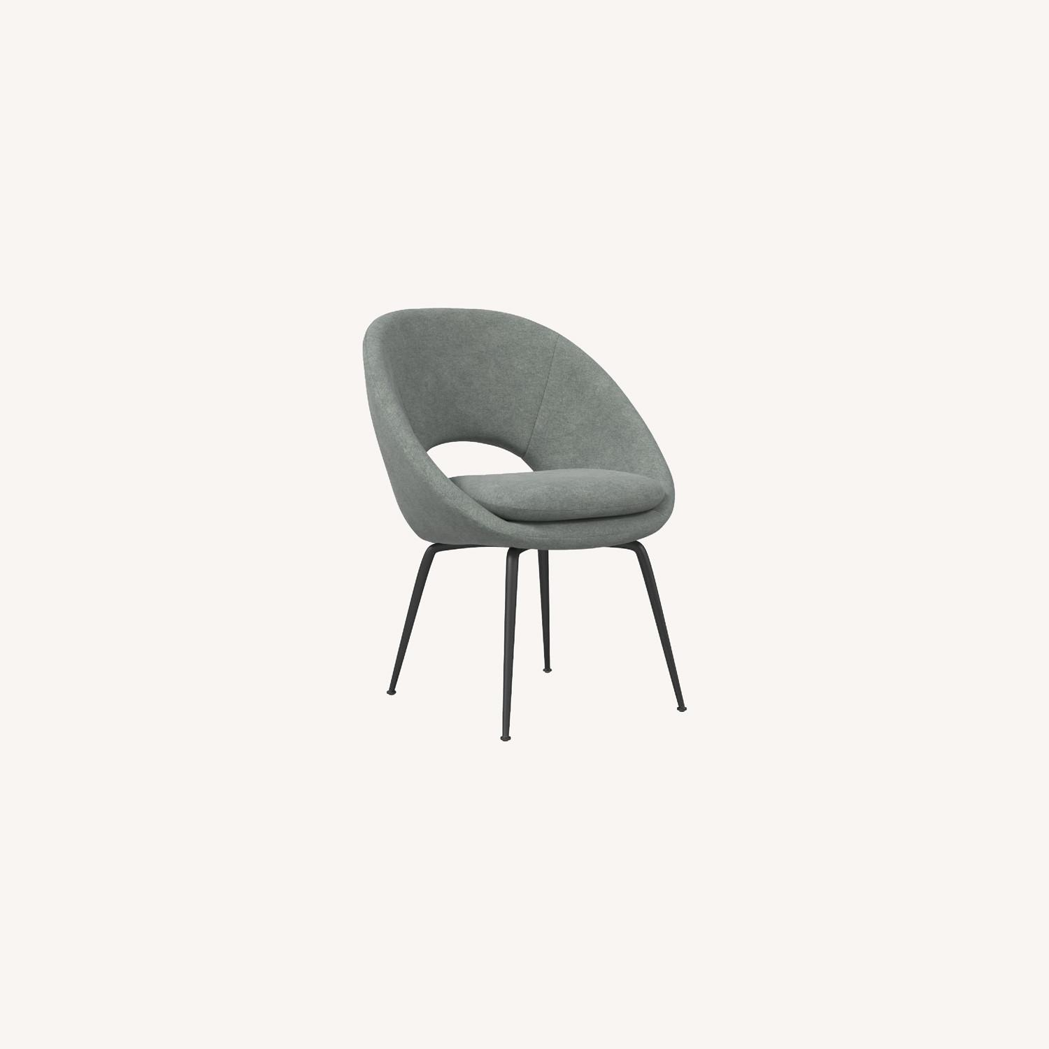 West Elm Orb Dining Chairs - image-0