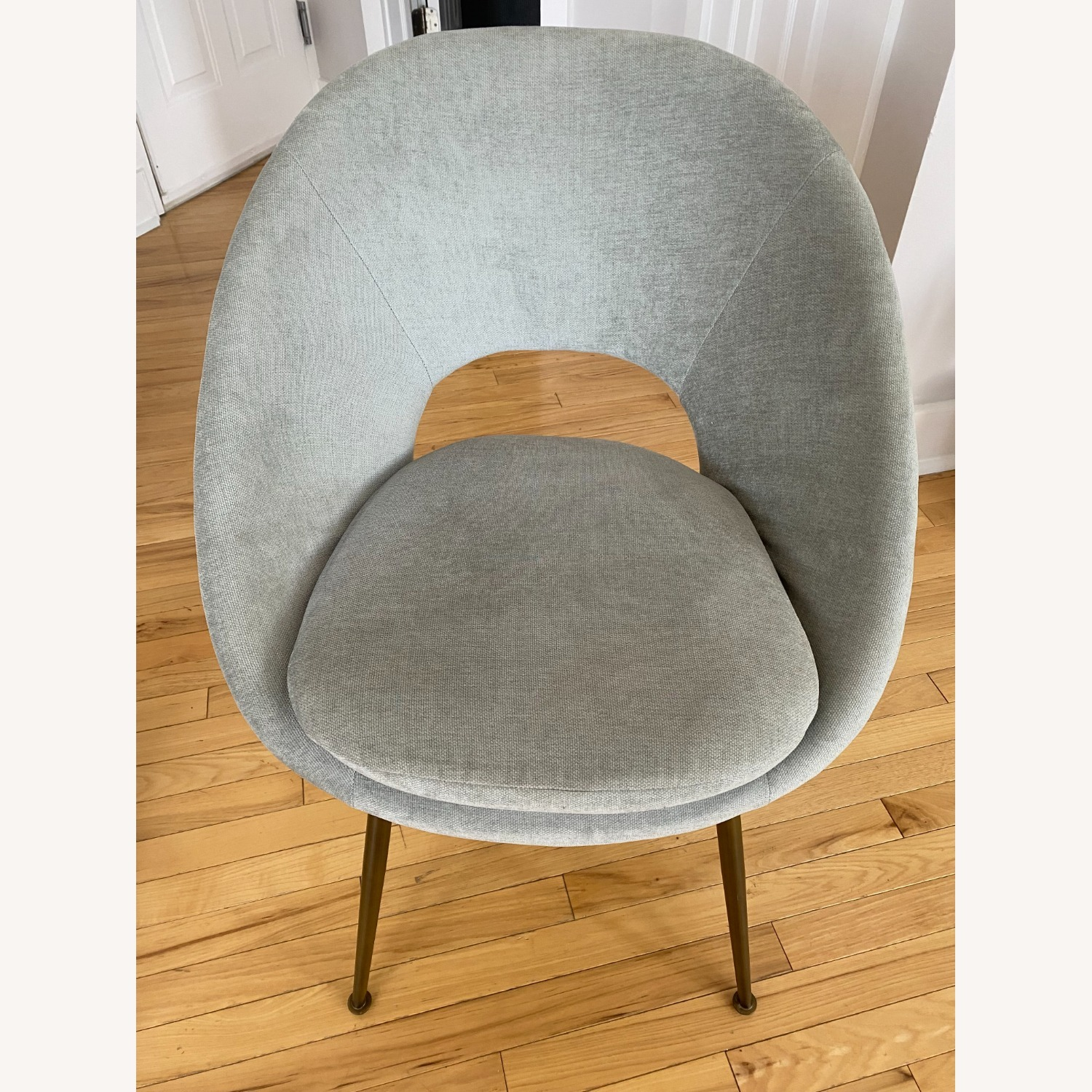 West Elm Orb Dining Chairs - image-1
