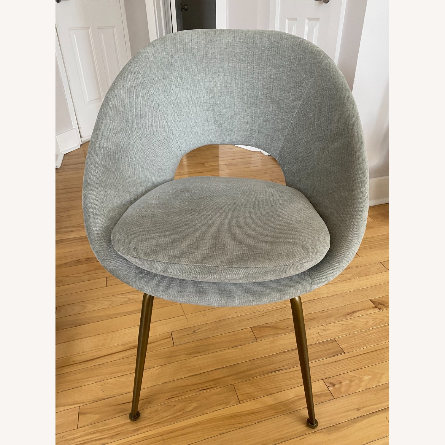 West Elm Orb Dining Chairs - image-6