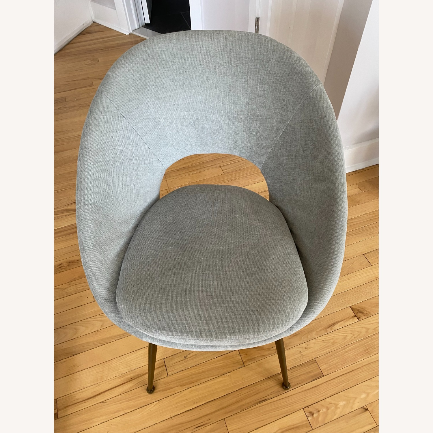 West Elm Orb Dining Chairs - image-7