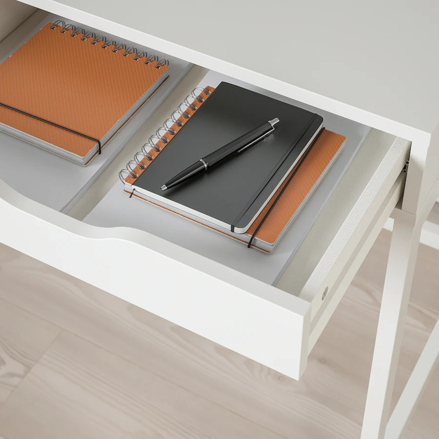 IKEA Alex Desk with Drawers - image-2