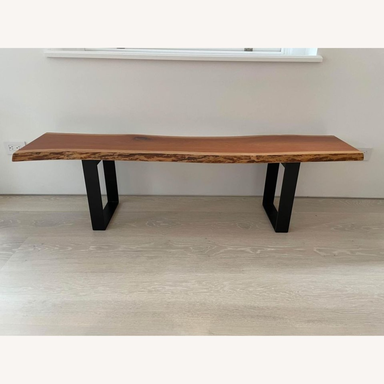 Room & Board Cherry Chilton Bench - image-1