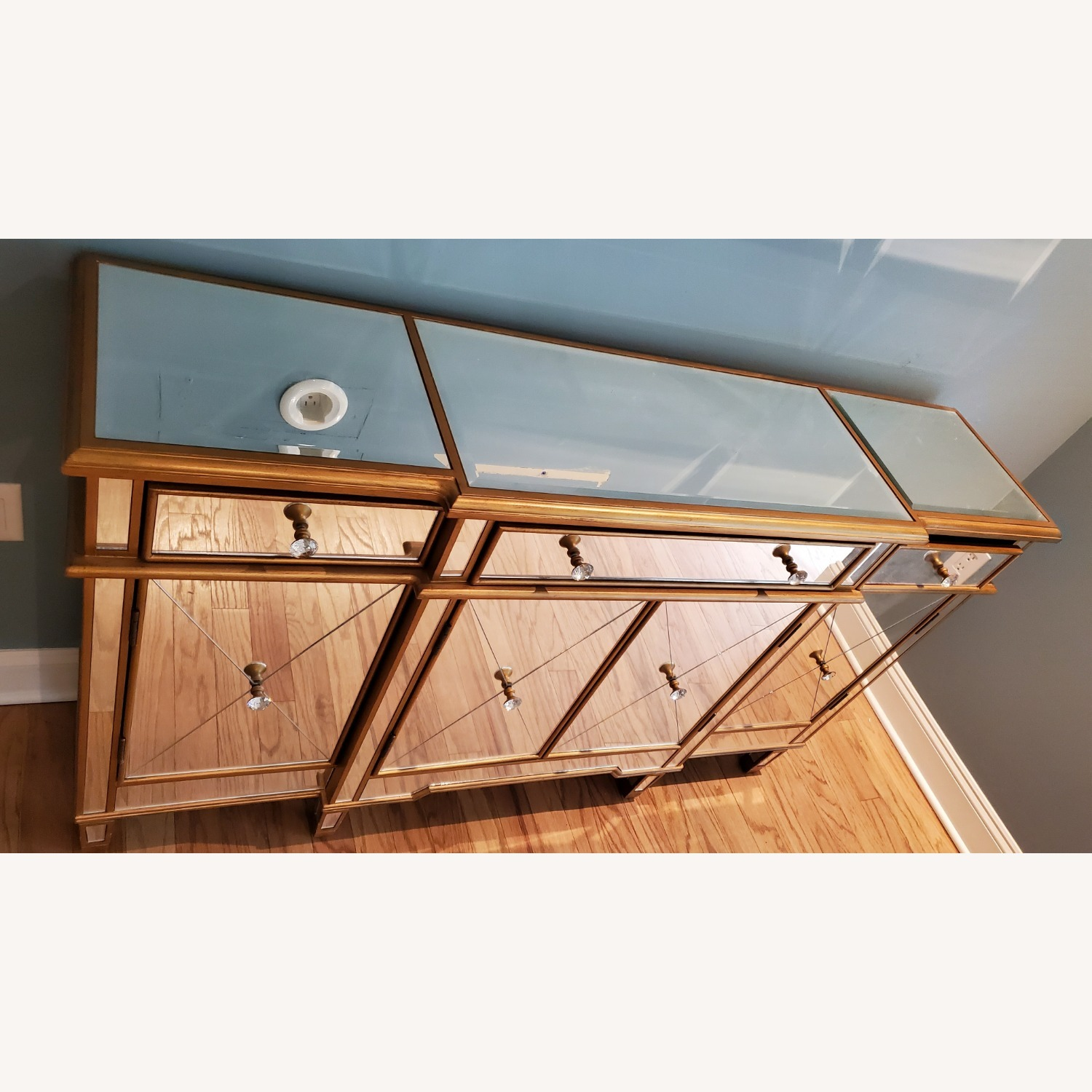 Wildon Home Mirrored Console Table - image-3