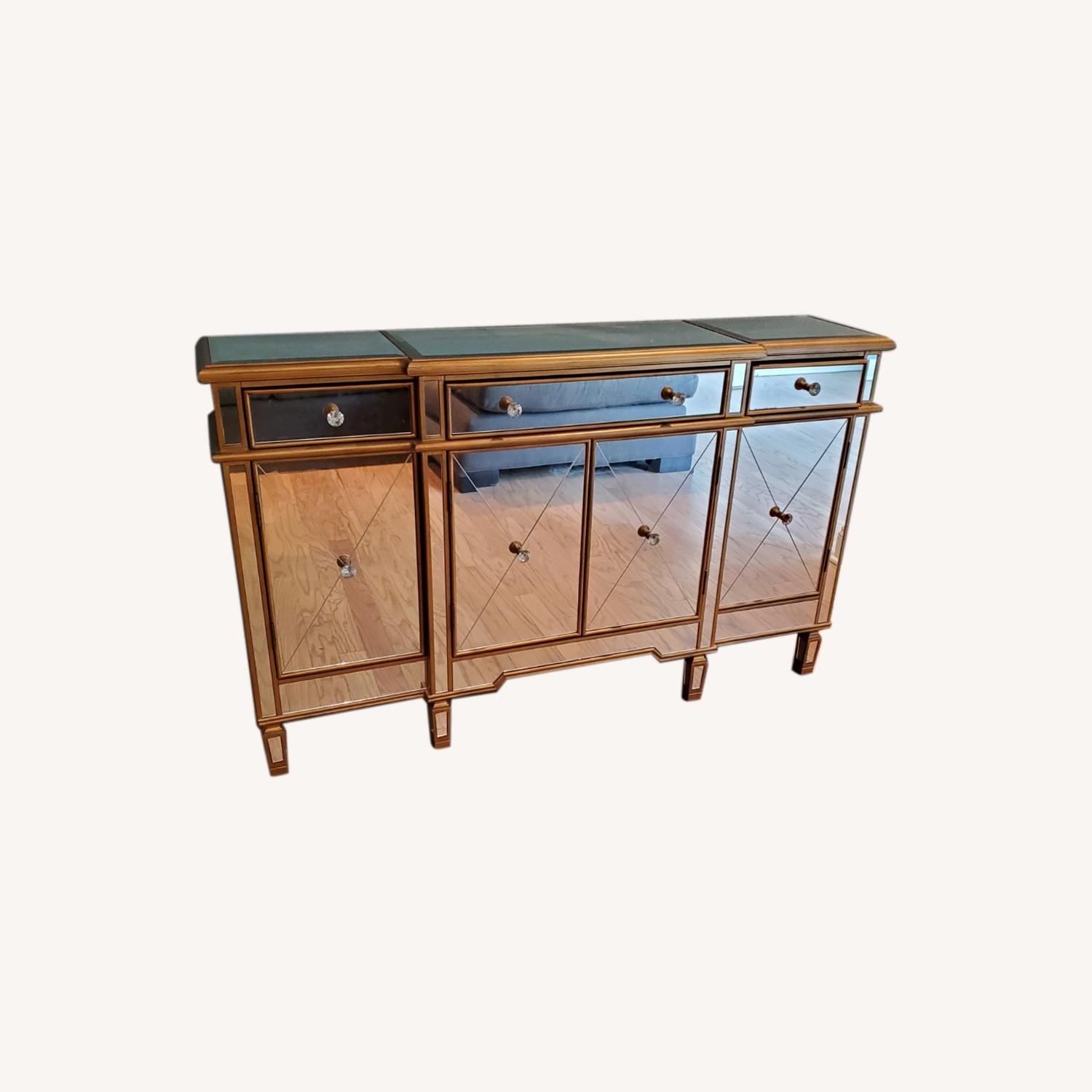 Wildon Home Mirrored Console Table - image-0
