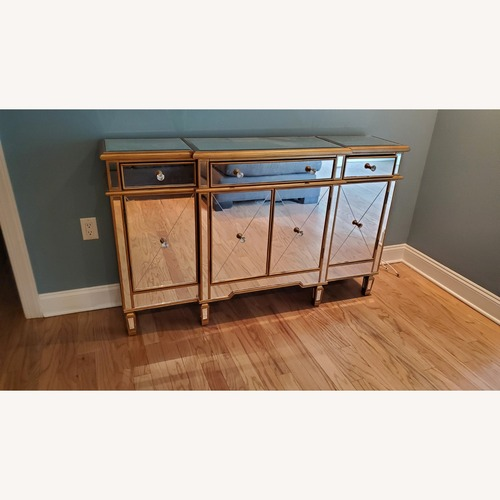 Used Wildon Home Mirrored Console Table for sale on AptDeco