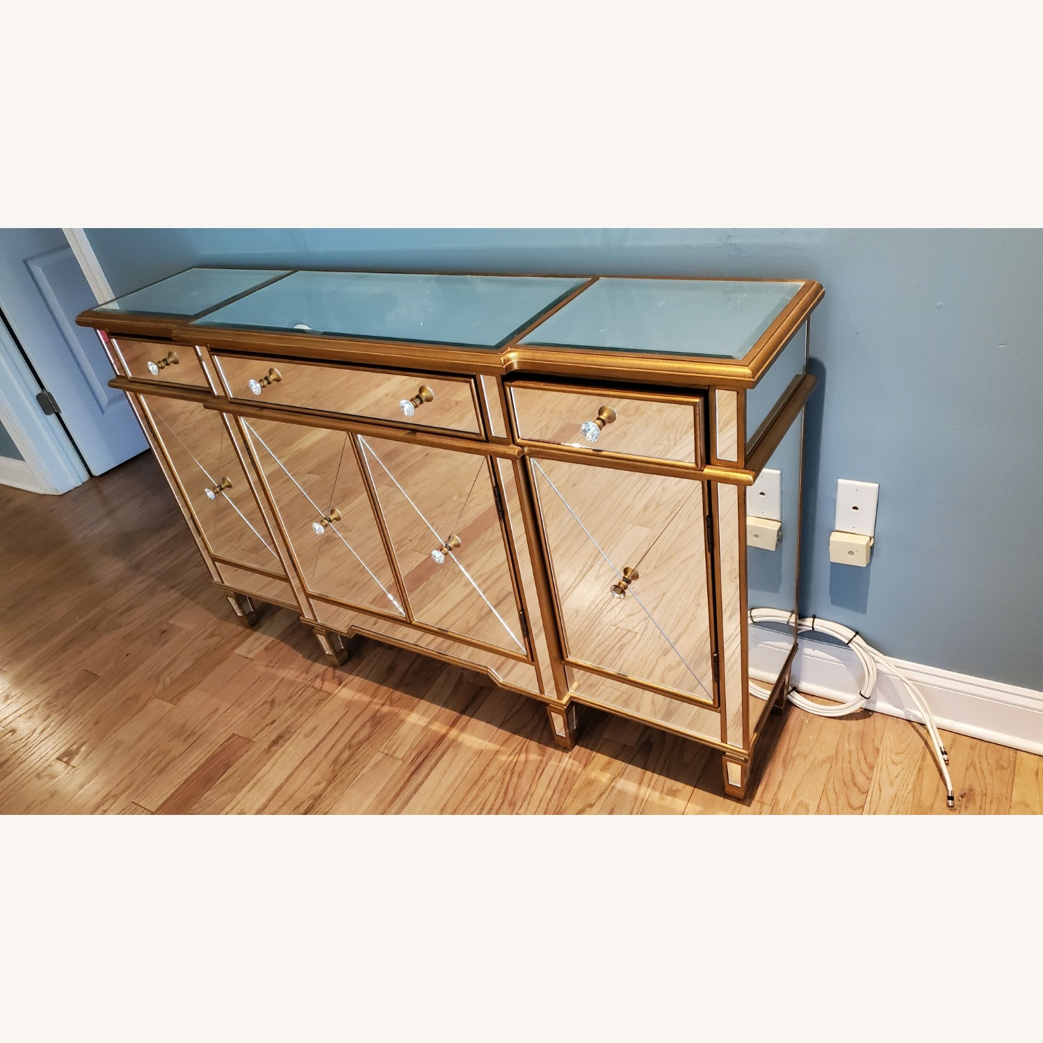 Wildon Home Mirrored Console Table - image-1
